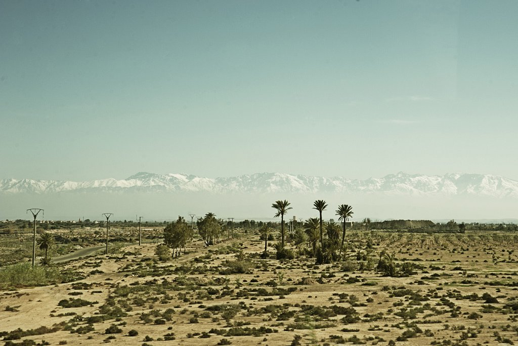Atlasgebirge / Marokko