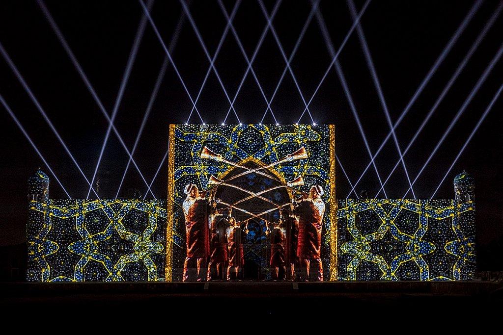 Sharq Taronalari Festival 2015 / Samarkand, Usbekistan